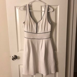 White comfortable stretchy dress